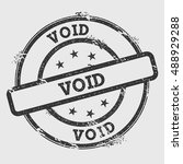 void rubber stamp isolated on... | Shutterstock .eps vector #488929288