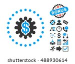 payment options icon with bonus ... | Shutterstock .eps vector #488930614