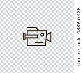 camera icon vector  clip art....