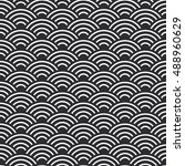 seamless pattern abstract... | Shutterstock .eps vector #488960629