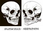 skull | Shutterstock .eps vector #488969494