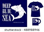 pattern design concept for... | Shutterstock .eps vector #488988946