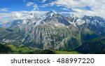 panorama view of the famous... | Shutterstock . vector #488997220