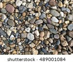 river stone   stone background  ... | Shutterstock . vector #489001084