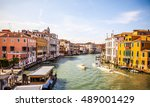 venice  italy   august 17  2016 ... | Shutterstock . vector #489001429