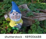 Garden Gnome With Watering Can...