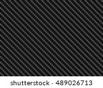 vector black carbon fiber... | Shutterstock .eps vector #489026713