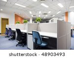 modern office interior | Shutterstock . vector #48903493