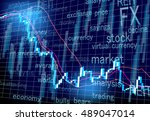 stock prices market | Shutterstock .eps vector #489047014