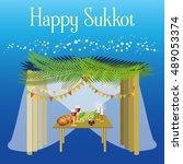Sukkot Festival Greeting Card...