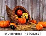Harvest Cornucopia With...