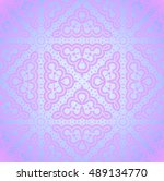 abstract geometric seamless... | Shutterstock . vector #489134770