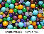 Many Colored Beads From The...