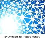 blue modern style  creative... | Shutterstock .eps vector #489170593