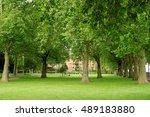 island gardens   a public... | Shutterstock . vector #489183880