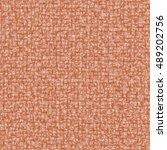 orange textile texture for... | Shutterstock . vector #489202756