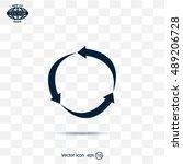 arrow circle icon   cycle  loop ...