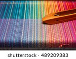 Weaving Shuttle On The Color...