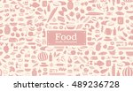 seamless pattern made from... | Shutterstock .eps vector #489236728