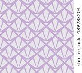 seamless lavender purple art... | Shutterstock . vector #489283204