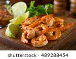 Delicious sauteed shrimp with...