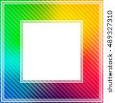 Abstract Bright Rainbow...