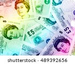 pound currency background ... | Shutterstock . vector #489392656