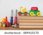 toys. | Shutterstock . vector #489410170