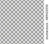 black and white  vector pattern. | Shutterstock .eps vector #489423550