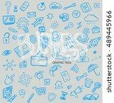 business hand drawn background  ...   Shutterstock .eps vector #489445966