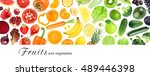 fresh color  fruits and... | Shutterstock . vector #489446398