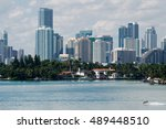 miami city skyline | Shutterstock . vector #489448510