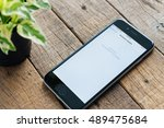 bangkok  thailand   september... | Shutterstock . vector #489475684