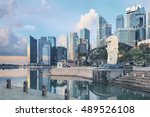 singapore  republic of... | Shutterstock . vector #489526108