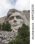 Small photo of Abraham Lincoln At Mount Rushmore