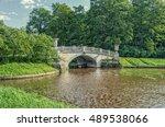 pavlovsk  saint petersburg... | Shutterstock . vector #489538066
