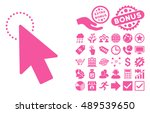 mouse pointer pictograph with...
