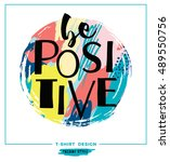 be positive. vector... | Shutterstock .eps vector #489550756