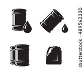 Barrel Oil Icons