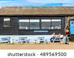southwold  uk   august 18  2016 ... | Shutterstock . vector #489569500