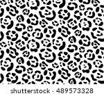 leopard  seamless pattern... | Shutterstock .eps vector #489573328