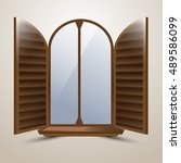 The Semicircular Arched Window...