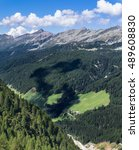 Small photo of View from Zillertaler Alpen - border of Austria and Italy