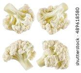 Cauliflower. Piece Isolated On...