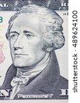 Small photo of Alexander Hamilton on ten dollar note