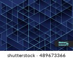 abstract background with... | Shutterstock .eps vector #489673366