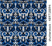 seamless abstract pattern for... | Shutterstock .eps vector #489718894