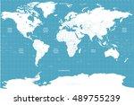 world political map | Shutterstock .eps vector #489755239