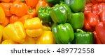 Fresh Yellow  Orange  Green An...