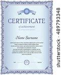 certificate template of
